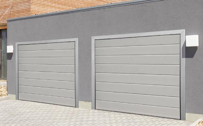 Dvojgaráž a bez bourání - to jsou garážová vrata Trido Evo