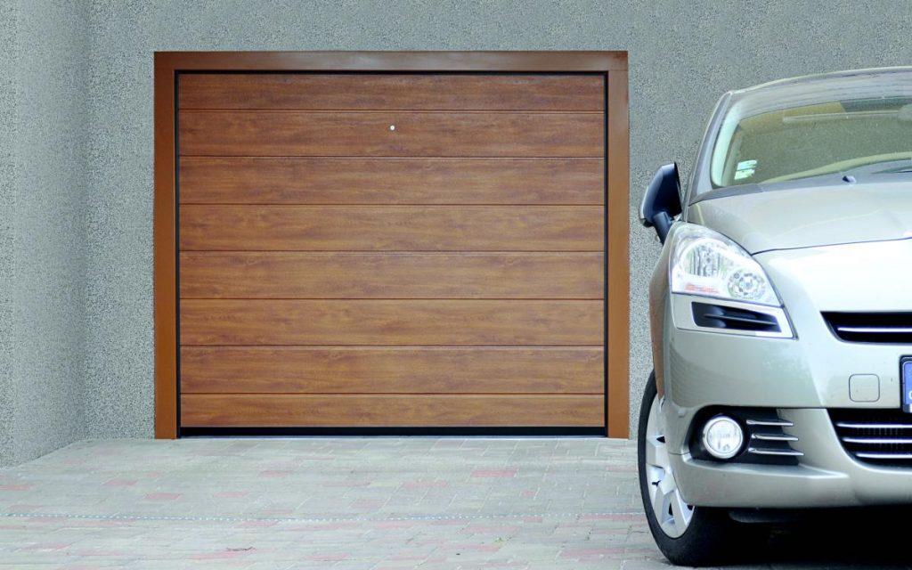 Garážová vrata Trido Evo instalované bez bourání