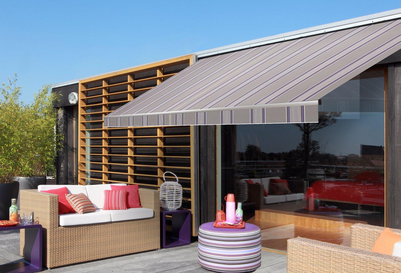 Markýza Emma - klasika, která poskytne dokonalý stín vaší terase.